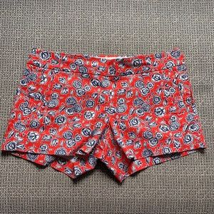 J Crew Floral Printed Shorts 8
